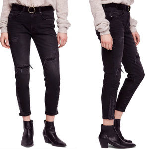 NWT Free People About A Girl Skinny Crop Jeans